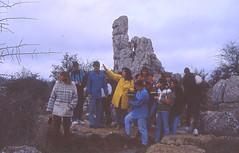 Torcal de Antequera  File0027 (Rafael Jiménez) Tags: diapositivas slides 1993 1994 torcal torcaldeantequera antequera antequeramálaga málaga rocas