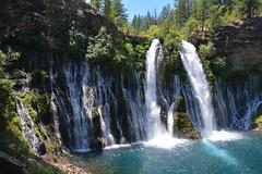 Water Fallin' (BijanMM) Tags: natural nature cold clear crystal blue california waterfall fall water