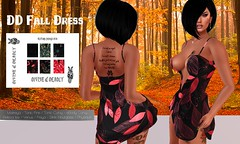 profile DD FALL dress (Mortal 2.0) Tags: secondlife bodymesh