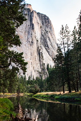 Cathedral Rock from the Merced River