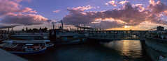 Habor (felix aka djspliff) Tags: hamburg hafenhamburg habor langzeitbelichtung timeexposure elbe fluss river hafencity city sky sunset sonnenuntergang