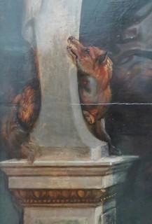 Detail from a painting by Peter Paul Rubens
