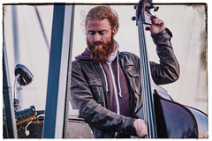 rock the bass (Mark Rigler -) Tags: bass man performer inside out dorset