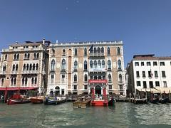 Biennale di Venezia on the Grand Canal (C-Monster) Tags: venice italy biennaledivenezia grandcanal