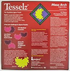 Mesa Arch - box base (pefkosmad) Tags: jigsaw puzzle leisure hobby pastime tesselz mesaarch davidmuench tessellationjigsawpuzzle crescentseries complete used secondhand designsinnature tessellate canyonlandsnationalparkutah imaginationproject iproject pandaenterprises