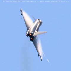 0154 Typhoon (photozone72) Tags: yeovilton yeoviltonairday airshows aircraft airshow aviation jets canon canon7dmk2 canon100400f4556lii 7dmk2 raf typhoon raftyphoondisplay eurofighter