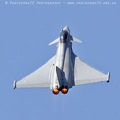0127 Typhoon (photozone72) Tags: yeovilton yeoviltonairday airshows aircraft airshow aviation jets canon canon7dmk2 canon100400f4556lii 7dmk2 raf typhoon raftyphoondisplay eurofighter
