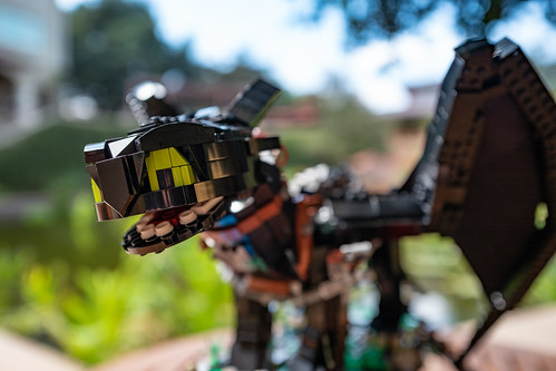 How To Train Your Dragon Toothless Lego MOC - a photo on
