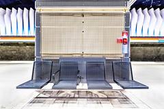 metro (TeRo.A) Tags: station asema metroasema helsinki koivusaari istuimet seats shadows valo light varjot