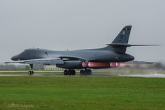 USAF, Rockwell B-1B Lancer (86-0122/DY), 9th BS/7th BW (mattmckie98) Tags: aircraft aviation airforce usaf us military bomber jet mildenhall rafmildenhall b1b nikon
