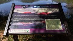 Blue Wall Preserve signs - 4 (MarksPhotoTravels) Tags: bluewallpreserve greenvillecounty southcarolina