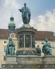 The Imperial (Hofburg) Palace #21 (jimsawthat) Tags: statues palace urban vienna austria architecture