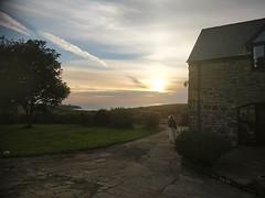 Auringonlasku #wales #castlemorris