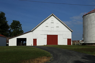 Cross Barn — Eagle Township, Brown County, Ohio