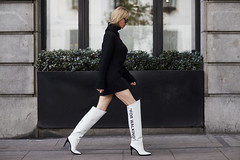 ((£01 (zo1kmeister) Tags: turtleneck sweater sweaterdress boots