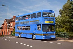 2957 Brownhills 01/09/18 (MCW1987) Tags: walsall classic bus running day preserved national express travel west midlands mcw metrobus mk2 2957 d957nda timesaver