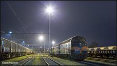 20180128 ex-ACTS-Locon 6701 + ex-ACTS-Locon 6705 + ex-NS-Locon 1824, Amersfoort Goederen (Koen Brouwer) Tags: 6701 6705 1824 train trein zug station gare bahnhof amersfoort amfge goederen locomotief acts locon rangeerterrein januari 2018