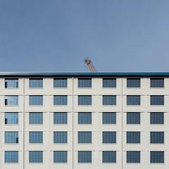 Squares (Erik Schepers) Tags: maastricht nederland netherlands dutch minimal minimalism architecture building lookinup windows limburg studio architect sphinx