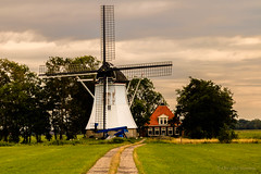 Monniksmolen (cstevens2) Tags: birdaard burdaard ferwerderadeel friesland nederland monniksmolen poldermill poldermolen thenetherlands