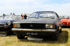 1973 Opel Rekord Coupe Automatic (Dirk A.) Tags: 89yb69 sidecode3 importkenteken 1973 opel rekord coupe automatic