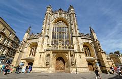 Bath Abbey (abtabt) Tags: unitedkingdom uk england bath georgianarchitecture architecture abbey church d700sigma1224