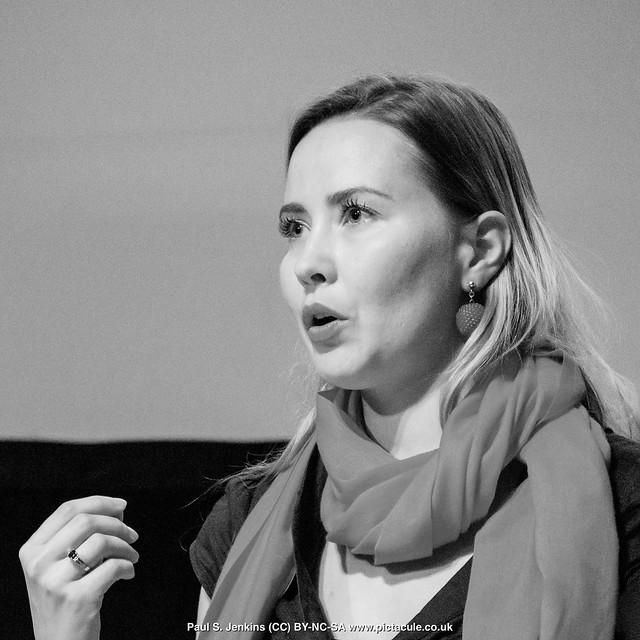 P8300205 Joanna Bagniewska at Winchester Skeptics