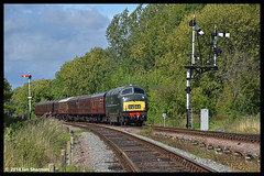 No D832 Onslaught 9th Sept 2018 Great Central Railway Diesel Gala (Ian Sharman 1963) Tags: no d832 onslaught 9th sept 2018 great central railway diesel gala class 42 warship station engine rail railways train trains loco locomotive passenger heritage line gcr leicester north rothley brook swithland quorn woodbridge loughborough