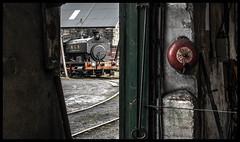 No smoke without fire (Blaydon52C) Tags: andrewbarclay no 22 bowes ncb coal industrial railway rail steam locomotive locomotives loco