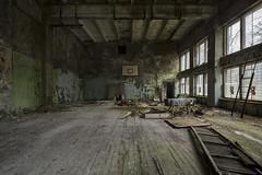 Goldilocks (www.MatthewHampshire.com) Tags: chernobyl gym decay ukraine