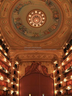 Buenos Aires, Teatro Colón, stage and ceiling