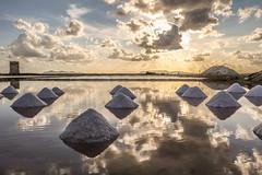 Saline 2 (blu69) Tags: salt saline trapani sicilia vento wind sun sole tramonto sunset isole egadi