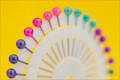 Pins ... (Jackie ...) Tags: carlzeiss pancolar50mm18 vintagelens colour