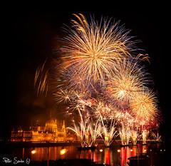 Happy Birthday, Hungary! (Szabo Peter) Tags: august canon canon6d danube firework hungary sigma sigma24105 urban