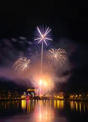 Feu d'artifice des forains - 25-08-2018 (Nancy Boy - Photographe amateur) Tags: feu artifice meuse huy nuit fireworks night