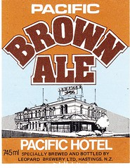 New Zealand - Leopard Brewery Ltd. (Hastings) (cigpack.at) Tags: newzealand neuseeland pacific brown ale hotel leopard brewery ltd hastings bier beer brauerei label etikett bierflasche bieretikett flaschenetikett