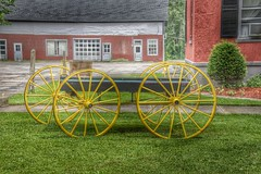 Homer New York -  Briggs Hall  - Historic House - Carriage (Onasill ~ Bill Badzo) Tags: canon eos rebel sl1 macro sigma lens 18250mm briggs hall memorial home funeral service cemetery sky clouds rain sunset reflection nrhp briggshall historic house manor banquet 2011 until manufacture nails sherman william mansion 1825 use readaptive courtlandcounty onasill state newyork ny homer building road grass flowers portico door planter window sign garden carriage 228