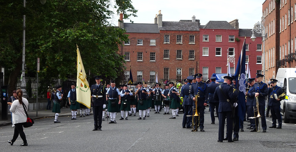 NATIONAL SERVICES DAY [PARADE STARTED OFF FROM NORTH PARNELL SQUARE]-143660