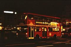 Night Bus Layover. ((Stop) The Clocks) Tags: londongeneral london mcwmetrobus trafalgarsquare nightbus n67 mcw londonbuses