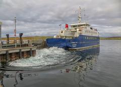 Bressay ferry (judmac1) Tags: ferry shetland lerwick boat water sea harbour pier