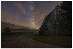 Walpack Valley (richpope) Tags: astro astrophotography milkyway stars sky mars nightsky darksky newjersey delewarewatergap walpackvalley nationalgeographic