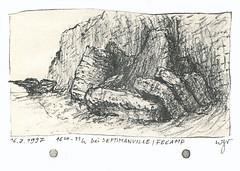 Wolfram Zimmer: Fecamp, Normandy, France (ein_quadratmeter) Tags: wolfram zimmer meinzimmer wolframzimmer kunst malerei gemälde painting freiburg burg birkenhof kirchzarten ausstellung ausstellungen aktionskunst zeichnung grafik drawing graphic fecamp normandie