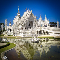 White Temple (alnesleif2) Tags: thailand chiangrai watrongkhun whitetemple contemporary unconventional artexhibit buddhist temple internationallandmark unesco historical famousplace traveldestinations