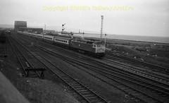Falkland . Ayr-Euston express c602 (Ernies Railway Archive) Tags: ayr falklandyard gswr lms scotrail