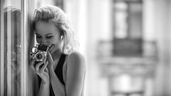 Two Beauties (Markus Hertzsch) Tags: retro vintage camera moody awesome badgirl beautifulgirl beauty bella bestof hair blond body analog curls casting colorful visa couture cute dark dream dress erotik eye fashion fashionweek femme flickraward frau makeup glamour goddess gold hasselblad haute heel high look hollywood hot legs leica lingerie lovely lense menschen model nude nylon people portrait russian schwarzweiss sedcard sexy shooting show skirt stranger studio style topmodel vouge wallpaper series smile
