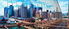 desde el puente (wuploteg1) Tags: brooklin bridge puente manhattan nueva new york estados unidos eeuu usa united states américa america