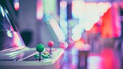 Back to the 80's (Caropaulus) Tags: bokeh blur rokkor minolta alpha7 50mm colors vintage 80s videogames retrogaming arcade