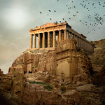 Parthenon in the ruins of Petra thumbnail