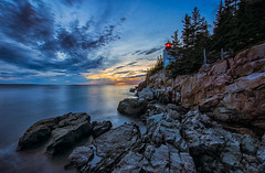 Follow Me When It's Dark Out (Anna Kwa) Tags: barharborheadlighthouse barharbor tremont mountdesertisland acadianationalpark cliffside rocks atlanticocean maine usa annakwa nikon d750 140240mmf28 my lighthouse follow me always seeing heart soul throughmylens lost home dark life journey destiny fate heartscolors