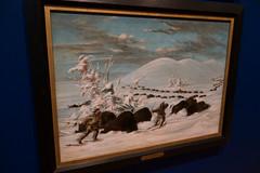 Buffalo hunting in snowshoes (quinet) Tags: 2017 aborigène canada firstnations gemälde georgecatlin indian kunst ontario rom royalontariomuseum toronto ureinwohner aboriginal art museum musée native painting peinture