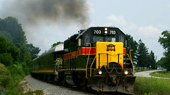 IAIS703-3 (joerussell2) Tags: trains steam locomotive iowa interstate iais